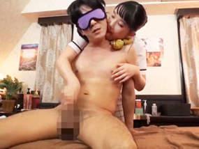 ロリ系セラピストは両乳首責め手コキが得意技。宮崎あや