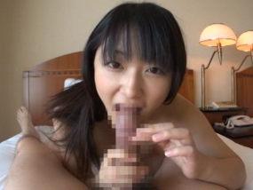 黒髪ロング彼女と主観乳首舐め騎乗位SEXデート!ゴム足りない・・