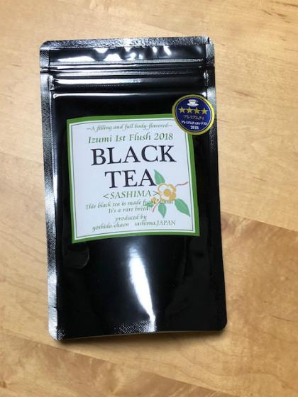 吉田茶園 IZUMI BLACK TEA 1st 2018