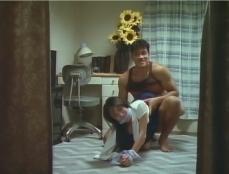 夫に見せ付けながら圭子を犯す達城
