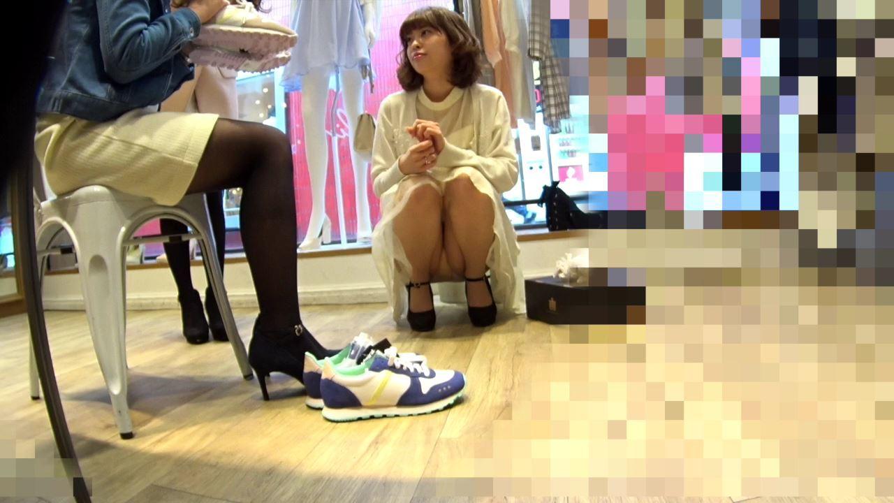 【高画質パンチラ】Part.41 ショップ店員編