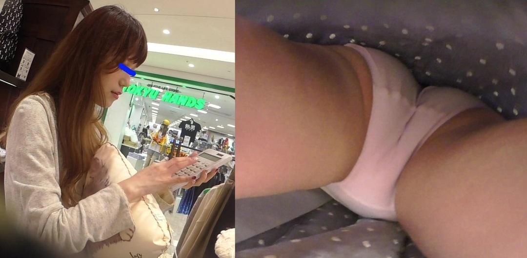 店員撮り79!可愛いコンセプトのお店で盗撮。沖縄埋まれの美人さん!