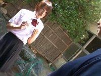 実家が旅館の女子校生、清掃のお手伝い中に変態客からレ〇プされる!