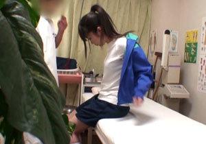 部活帰りのスポーツ少女がジャージを脱がされヤラれる一部始終!