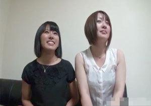 過去にAV出演した人妻さんがお友達を誘って再AV出演!小野有紗