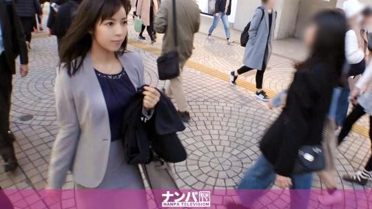 マジ軟派、初撮。 1322 新宿で見つけた縁起良き名前の美女「れいわ」さん♪