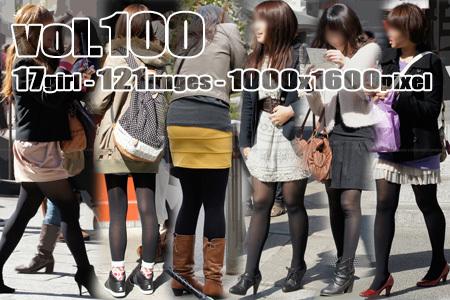 ■ ■vol100-むっちり美脚に履く色っぽい黒タイツ