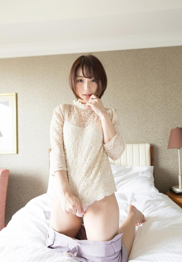 八乃つばさ スレンダー巨乳美女セックス画像88枚のb09枚目