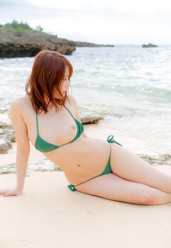 伊藤舞雪 奇跡のくびれ美巨乳ボディエロ画像59枚のb09枚目