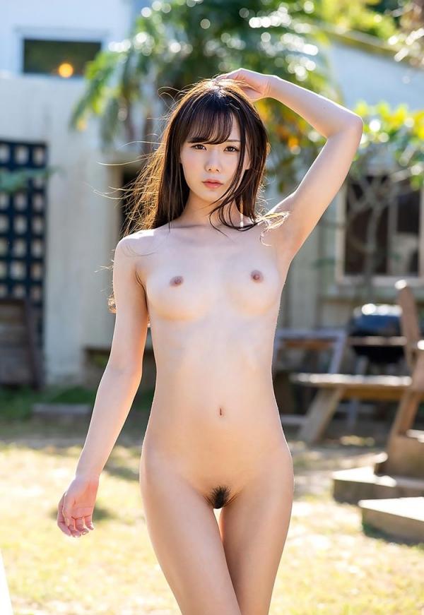 坂道みる 魅惑のクビレ美巨乳ボディヌード画像120枚の026枚目
