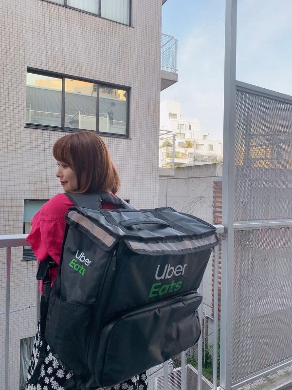 白石茉莉奈さん、Uber Eats 配達員になる。画像54枚のb4枚目