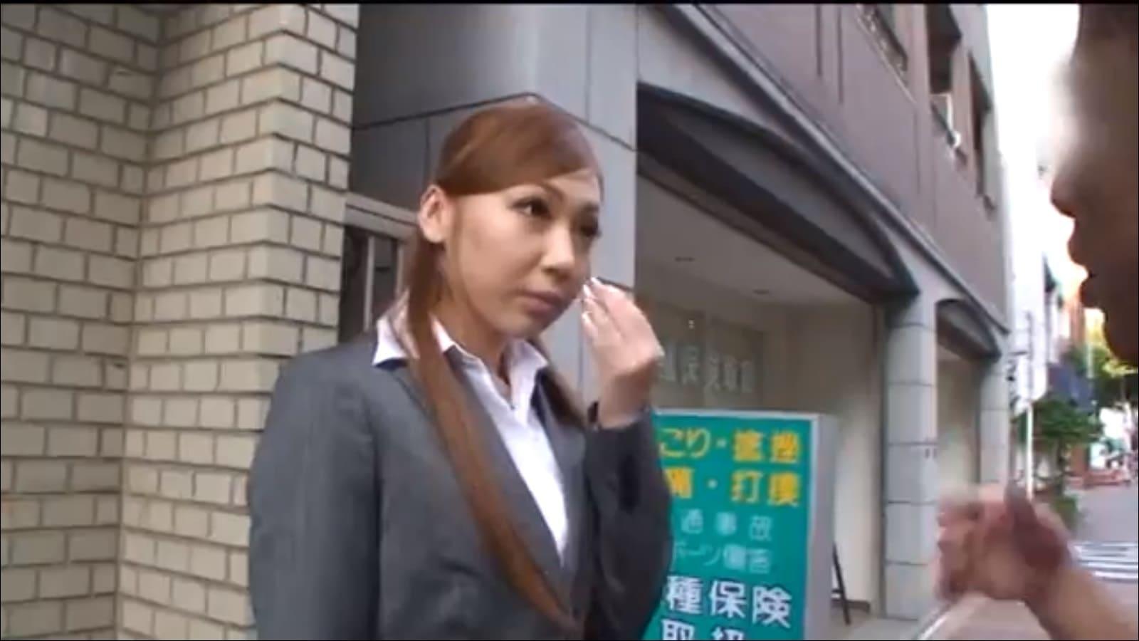 黒木美咲をアンケートナンパ