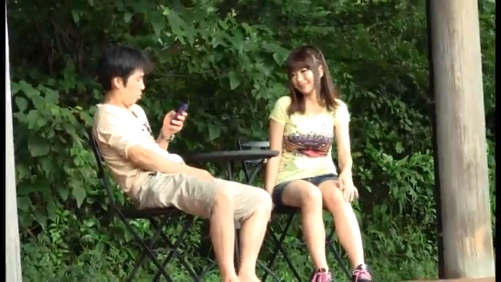 田中志乃がおじさんを逆ナンパ