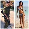 イスラエルの美人女性兵士