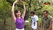 アナが茨木県水戸市で横乳を炸裂