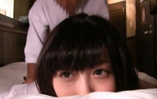 【個人撮影】美巨乳なめちゃカワ彼女に制服着せて大量顔射するハメ撮り