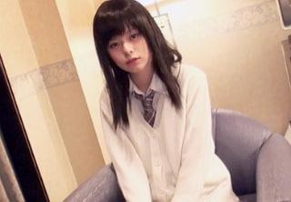 【無修正】島崎りか 制服美少女のパイパンマンコにたっぷり精液流し込むハメ撮り映像