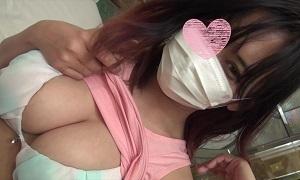 【無修正】留学3年目の美爆乳娘を生勃起チンポでガンガン突きまくる中出し交尾