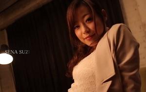 【無修正】鈴森汐那 イヤらしい生脚、美乳チラ見せて男子生徒を誘惑するドスケベ英会話教師