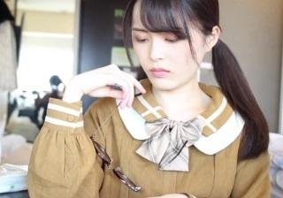 【無修正】欅坂に居そうな雰囲気の美少女JDとのハメ撮り映像
