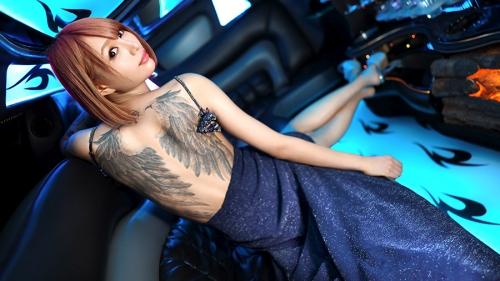 夜の巷を徘徊する〝激レア素人〟!! 31 全身Tatto〟〝170cm高身長〟エル(仮名) 21歳 謎のマルチ経営者 300MIUM-521(佐藤エル) 19