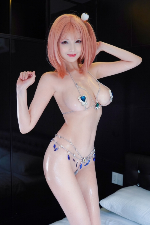 DEAD OR ALIVE XTREME 3 Fortune Cosplay DOAX フォーチュン水着コスプレ 10