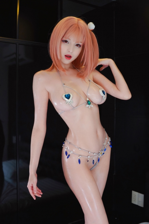 DEAD OR ALIVE XTREME 3 Fortune Cosplay DOAX フォーチュン水着コスプレ 12