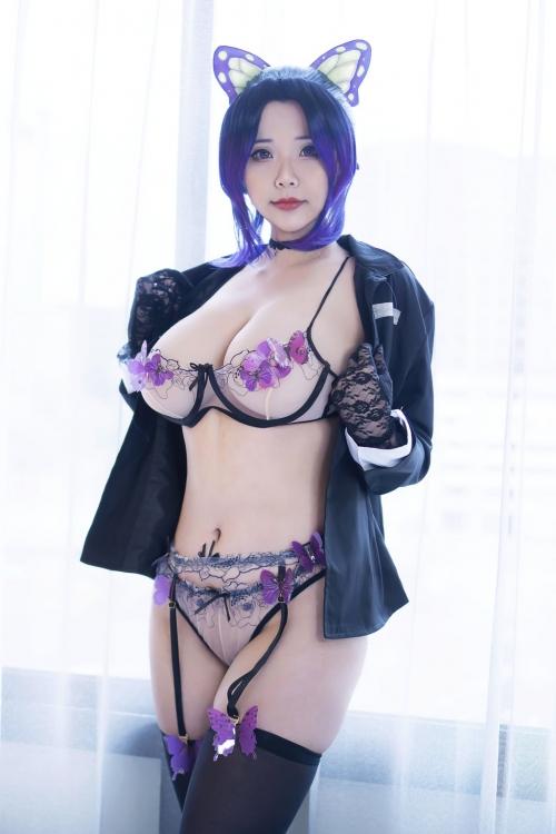 Hana Bunny Cosplay 75