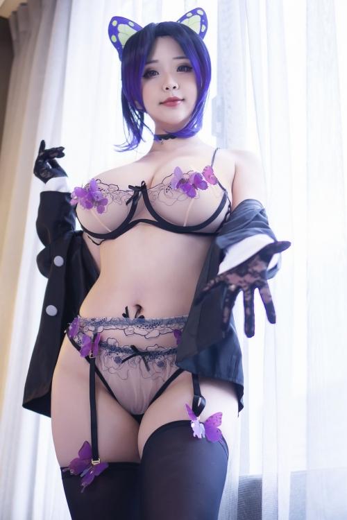Hana Bunny Cosplay 76