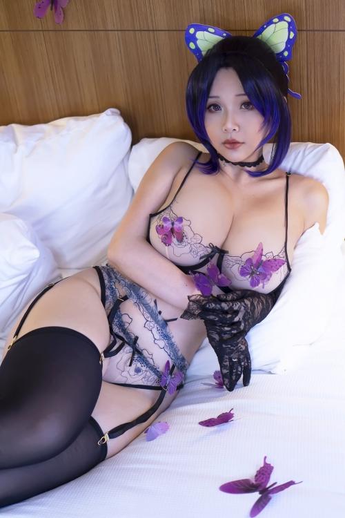 Hana Bunny Cosplay 84