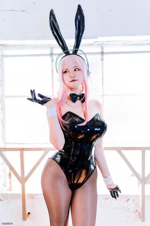 バニーガール bunny girl Cosplay 31