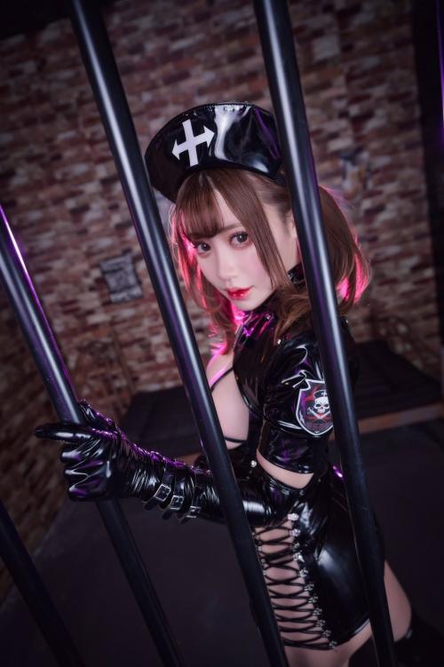 エナメルダークナース コスプレ enamel dark-nurse cosplay 02