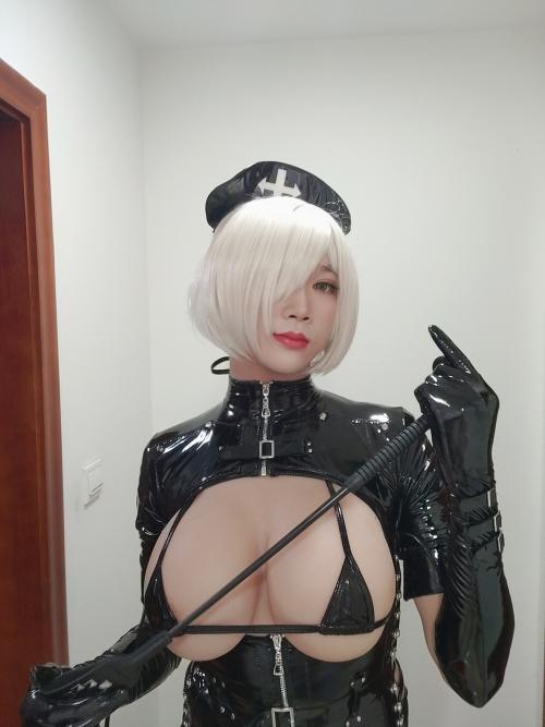 エナメルダークナース コスプレ enamel dark-nurse cosplay 13