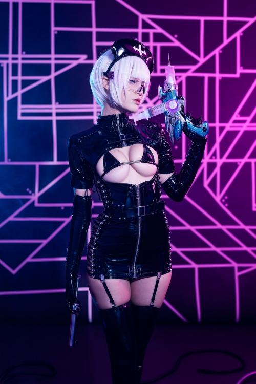 エナメルダークナース コスプレ enamel dark-nurse cosplay 17