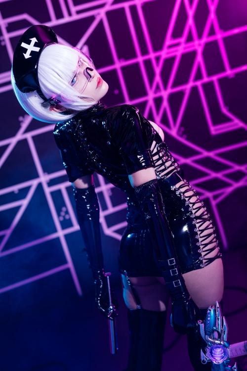 エナメルダークナース コスプレ enamel dark-nurse cosplay 18