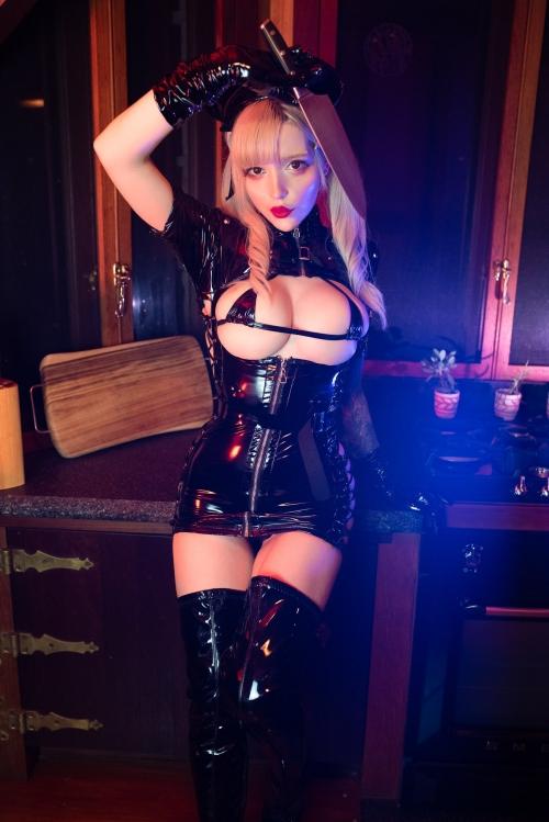 エナメルダークナース コスプレ enamel dark-nurse cosplay 26
