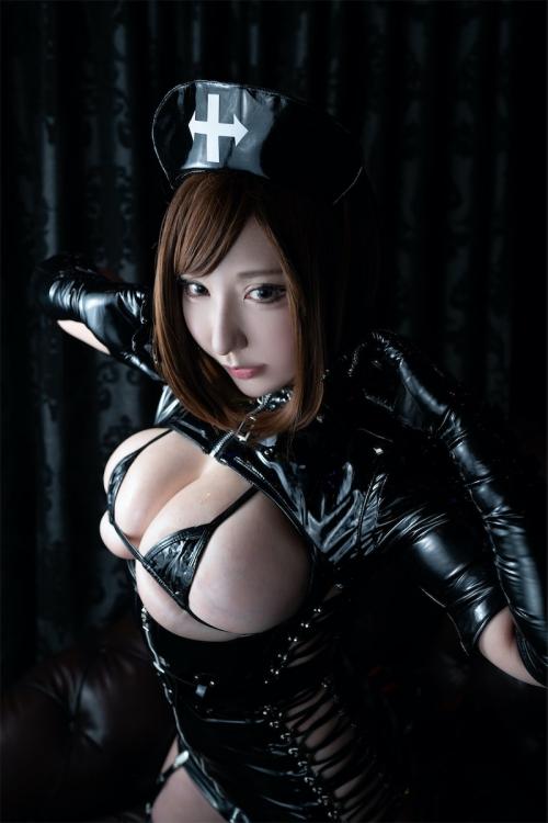 エナメルダークナース コスプレ enamel dark-nurse cosplay 39