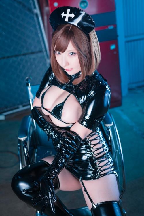 エナメルダークナース コスプレ enamel dark-nurse cosplay 47