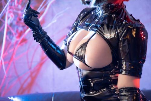 エナメルダークナース コスプレ enamel dark-nurse cosplay 54