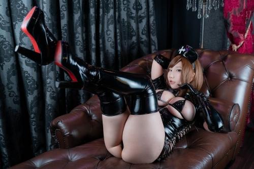 エナメルダークナース コスプレ enamel dark-nurse cosplay 57