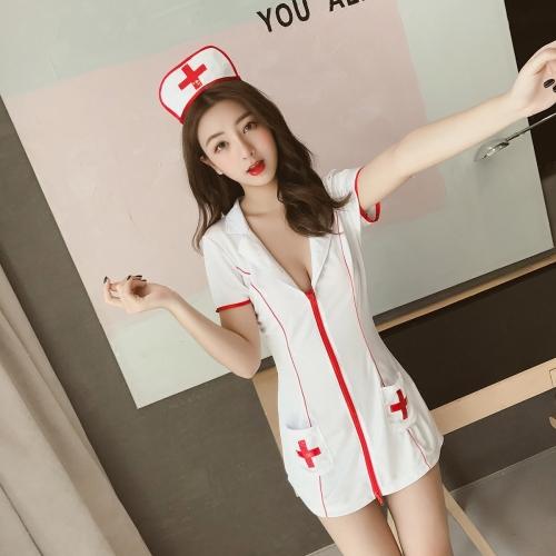 性的なナースコスプレ Nurse Cosplay 19