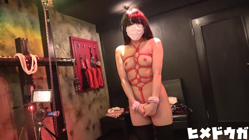 【完全素人39】JDサヤカ18才その2、ほぼ顔出し!!SMホテルで緊縛、中出し、アナルプラグ-6
