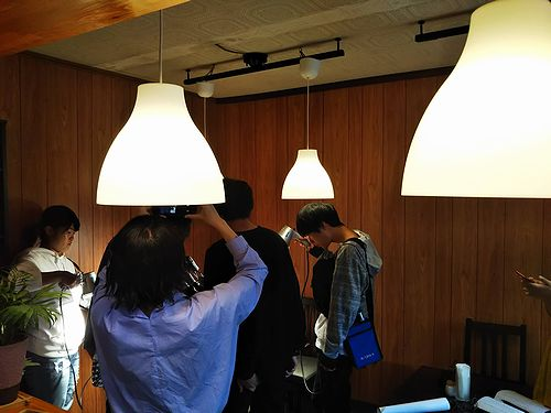 20180921草津温泉カフェ花栞(はなしおり)江戸川大学 映像放送研究部撮影中4
