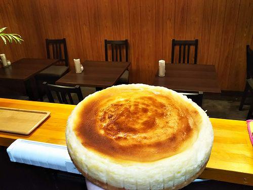 20181009草津温泉カフェ花栞(はなしおり)チーズケーキ仕込み2