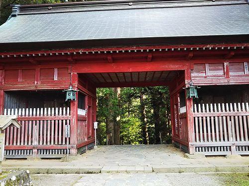 20181023山形県鶴岡市、出羽三山神社・五重塔 (4)