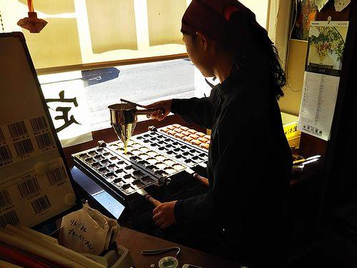 20181025草津温泉の店。湯の花まんじゅう本舗2