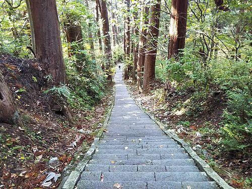 20181023山形県鶴岡市、出羽三山神社・五重塔 (14)