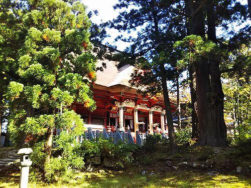 20181023山形県鶴岡市、出羽三山神社・五重塔 (33)