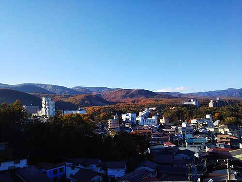 20181025草津温泉の紅葉3