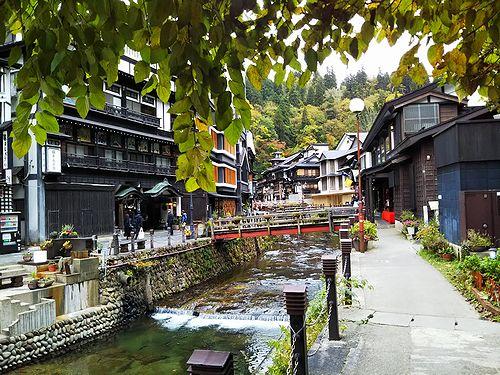 20181023山形県尾花沢市、銀山温泉1